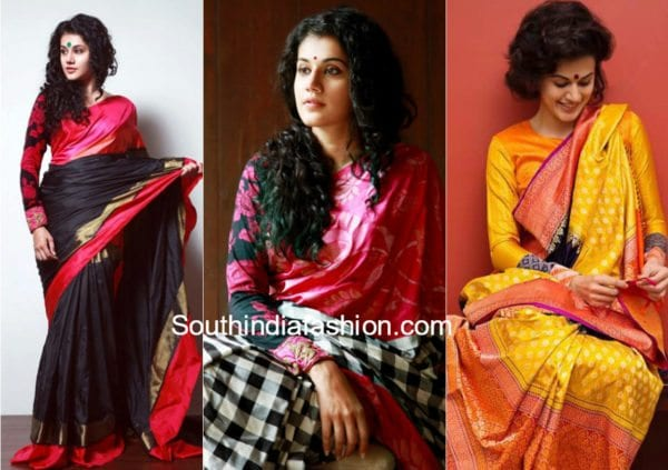 full sleeves blouse patterns for pattu silk sarees