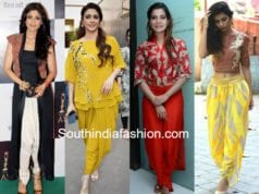 tips to style dhoti pants