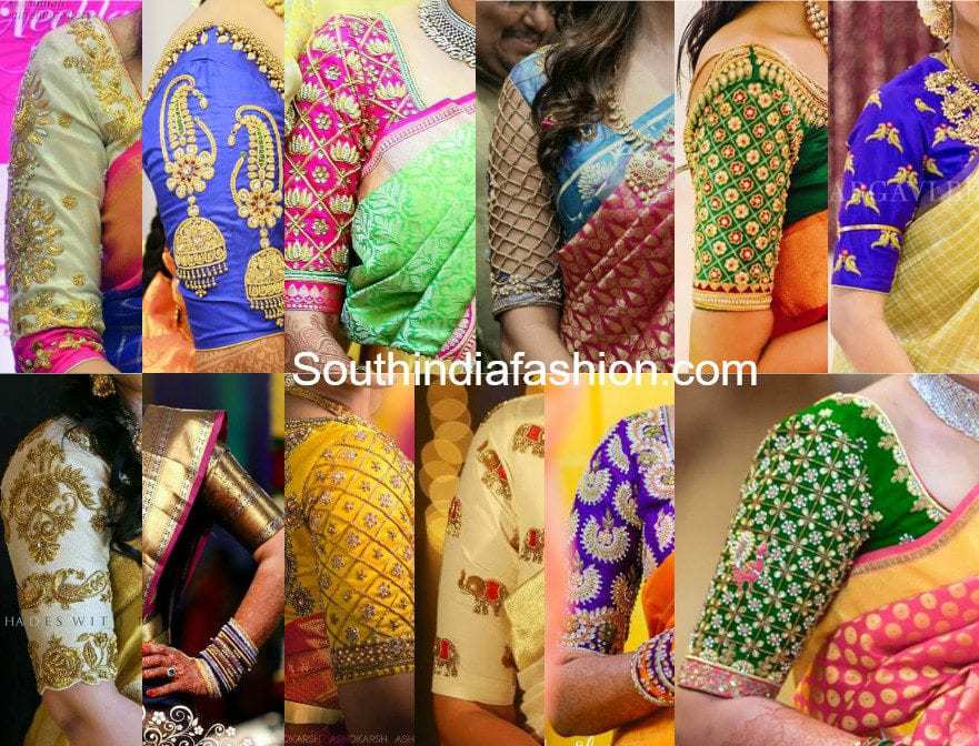 TOP 20 BLOUSE DESIGNS FOR SILK SAREES