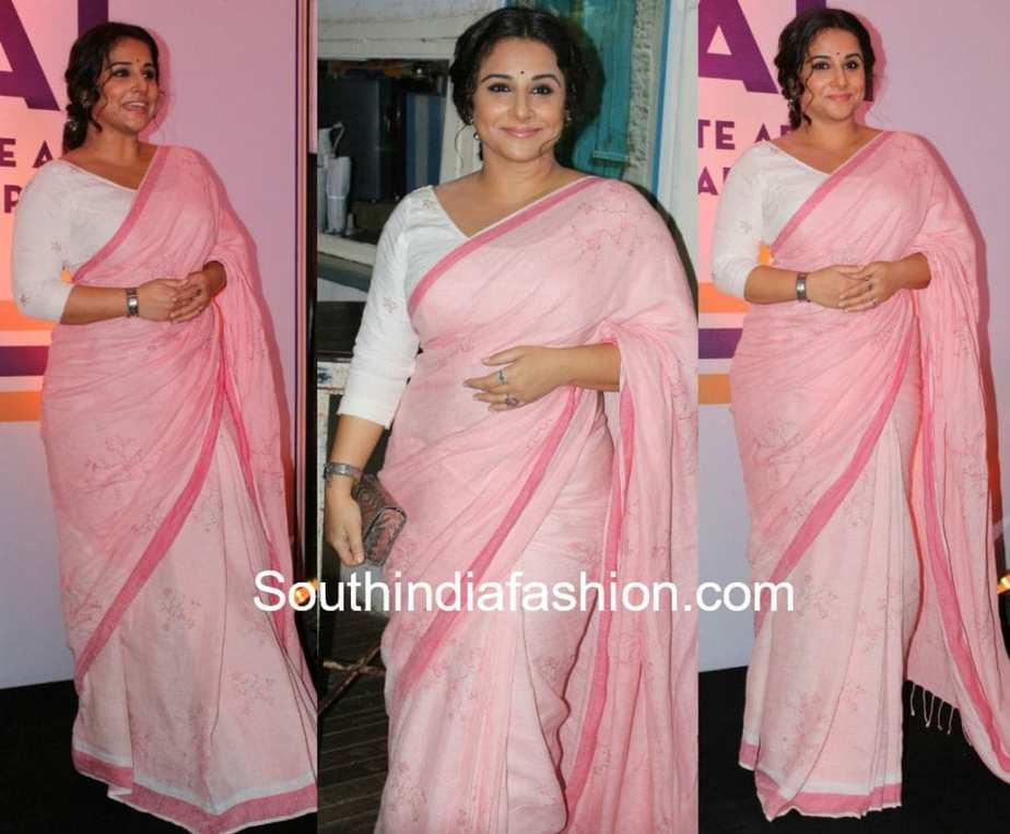 f5fa42ff10548d Vidya Balan in Eka – South India Fashion