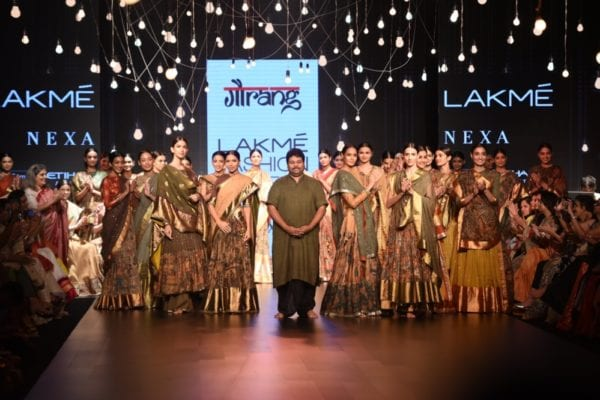 Gaurang Lakme Fashion Week 2017 Chitravalai Collection