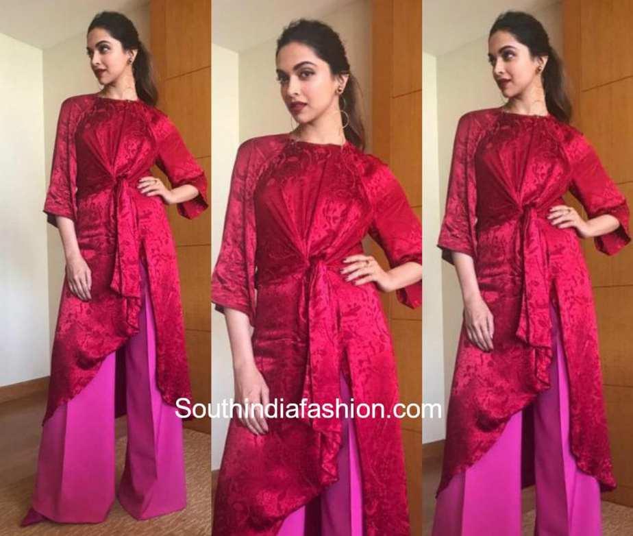 3daa2999d25f Deepika Padukone in Zara – South India Fashion