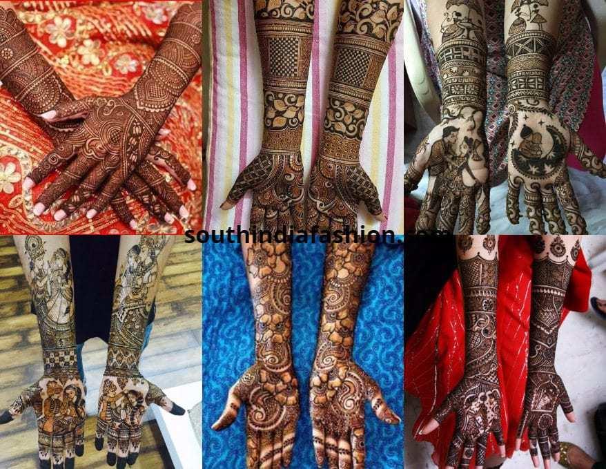 bridal mehendi designs