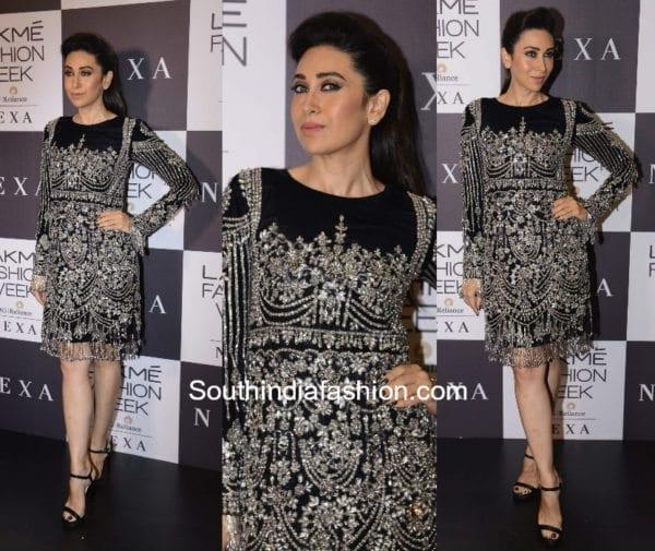Karishma Kapoor in Manish Malhotra at Lkame Fashion Week 2017