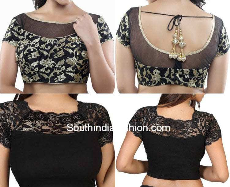 readymade net blouses � south india fashion