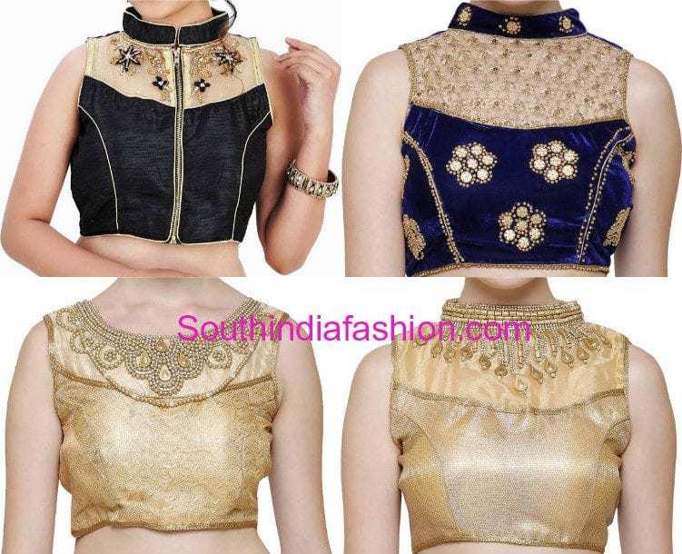 Collar blouses online shopping