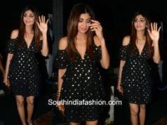 Shilpa Shetty in & Other Stories Dress at Roshni Iyer's birthday bash