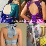 Flaunt The Tie-Up Blouse Designs