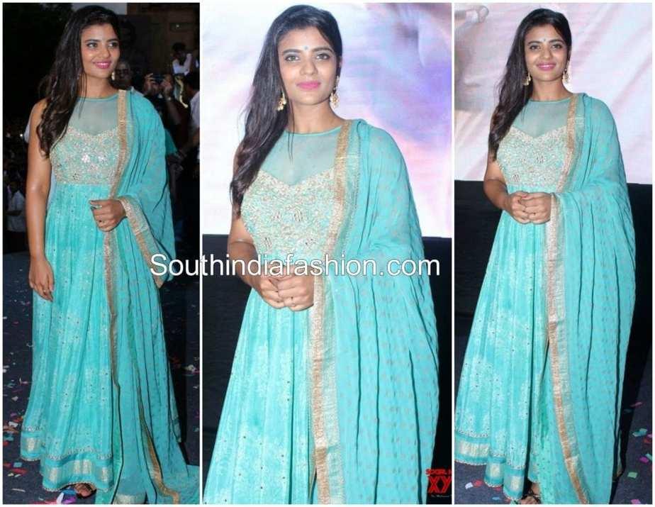 aishwarya rajesh blue anarkali daddy song launch