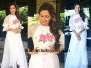 amala paul in white dress for vip2 promotions