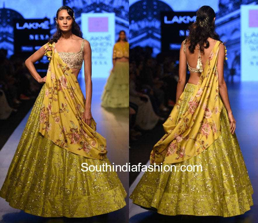 LAKME FASHION WEEK WINTER/FESTIVE 2017 ANUSHREE REDDY COLLECTION