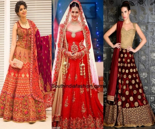 Latest Trending Bridal Lehenga Blouse Designs South India Fashion