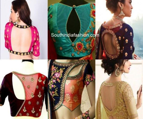 Latest Trending Bridal Lehenga Blouse Designs South India