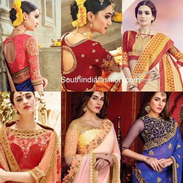 karva-chauth-saree-blouse