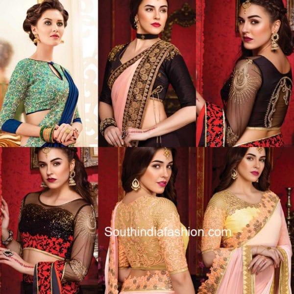 karwa-chauth-saree-blouse