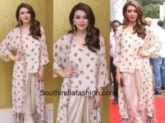 hansika nikasha dress tony and guys salon launch