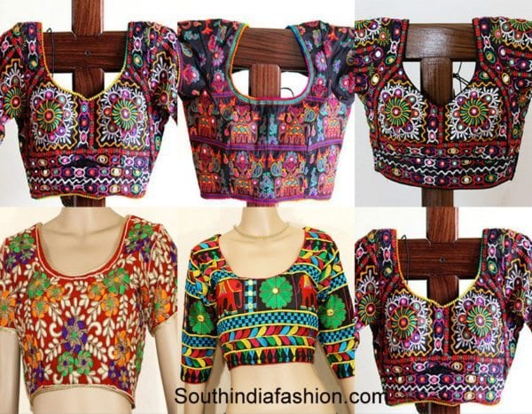 wedding-saree-blouses-kutch-work
