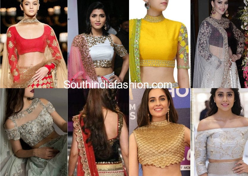 Lehenga Blouse Designs Latest Choli