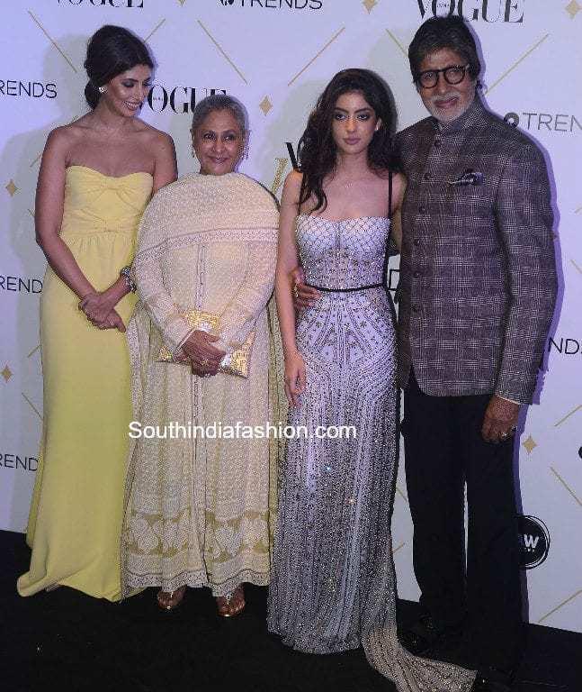 Fashion Beauty Awards 2017: Navya Naveli Nanda In Monisha Jaising
