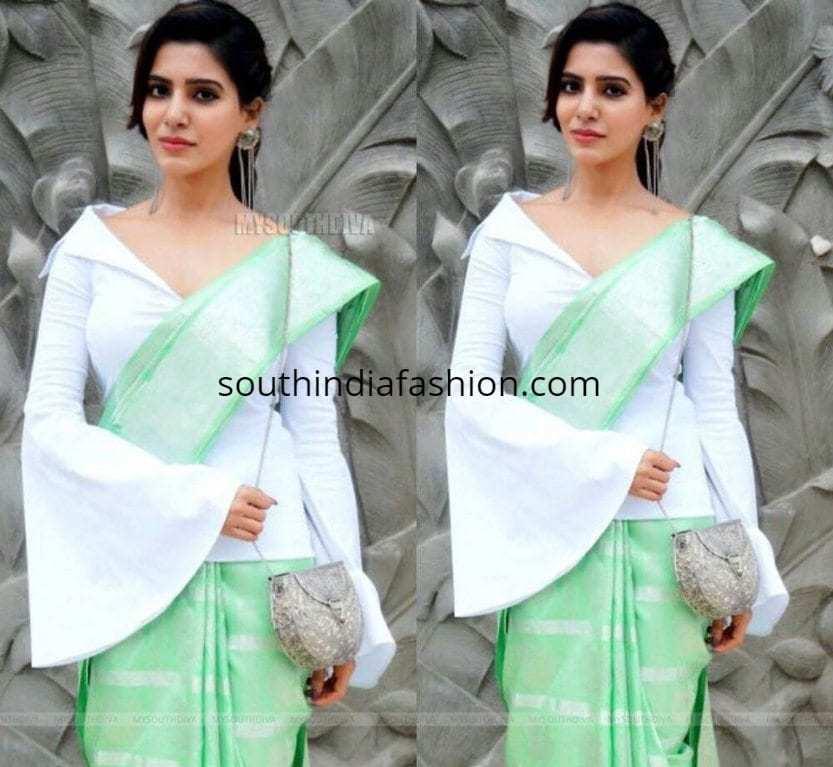 15 awesome blouses of Samantha