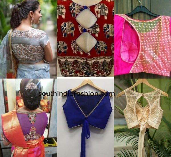 Fancy Design Blouse Back Neck Designs Photos 2017 30 Trendy Blouse Back Neck Designs For Silk Sarees Keep Me Stylish Discover The Latest Best Selling Shop Women S Shirts High Quality Blouses