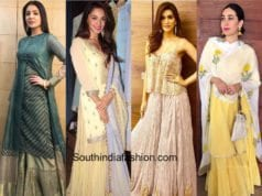 Bollywood Celebrities in shararas