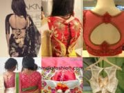 Awesome Back Neck Designs For Your Blouses