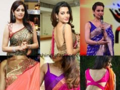 sleeveless blouse designs