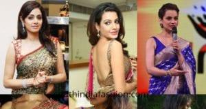 sleeveless blouse designs
