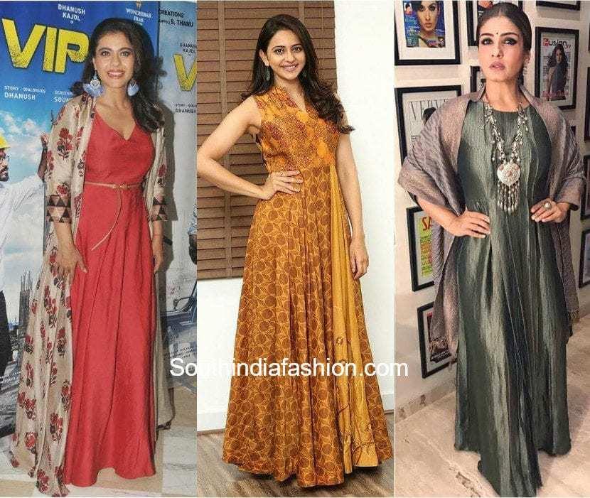 Indo Western Maxi Dresses
