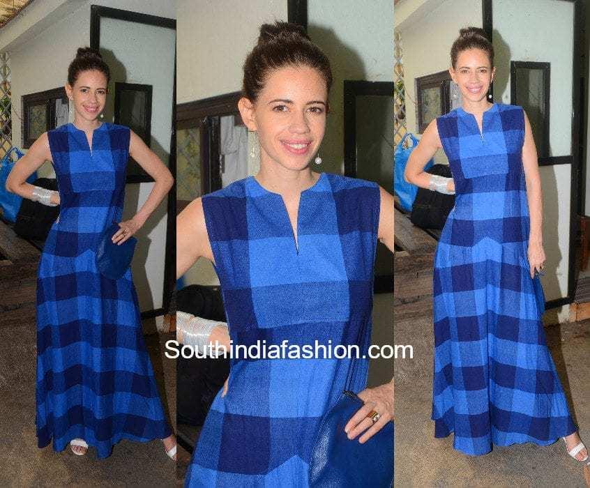 Kalki Koechlin in Label Sreya Samanta at Jia aur Jia movie trailer launch