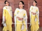 Karishma Kapoor in Drzya by Ridhi for Onam Celebrations