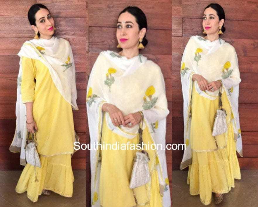 Karishma Kapoor in Drzya by Ridhi for Onam Celebrations