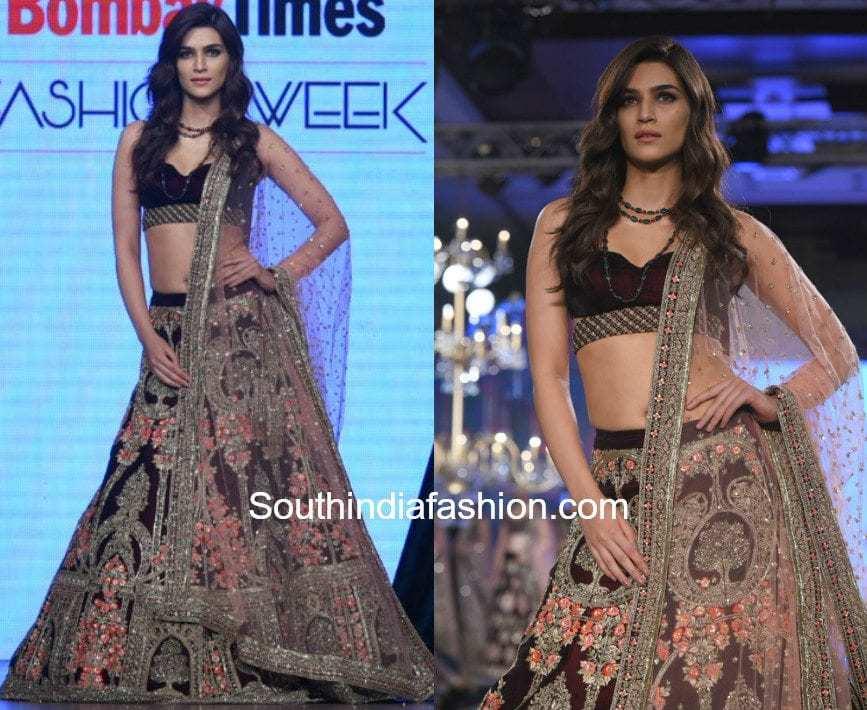 Kriti Sanon in Kalki at Bombay Times Fashion Week 1