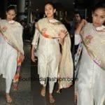 Mira Kapoor in a simple salwar suit
