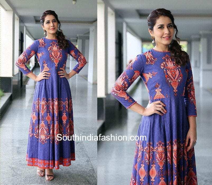 Raashi Khanna Hairstyle 1