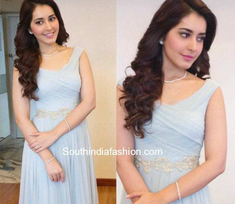 Raashi Khanna Hairstyle