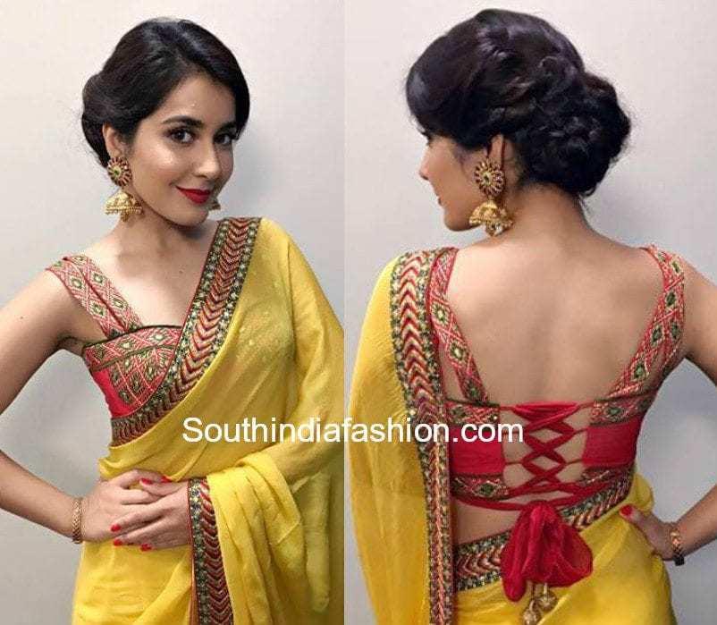 Raashi Khanna Hairstyles 11