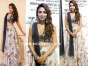 Amala Paul at Thiruttu Payale 2 Audio Launch in payal singhal lehenga