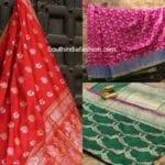 Beautiful Banarasi Sarees by Tilfi