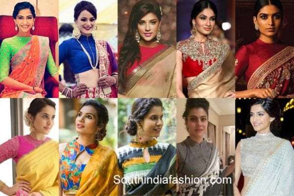high-neck-saree-blouses