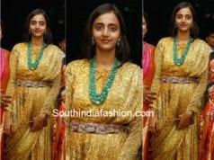 lakshmi pranathi long gown