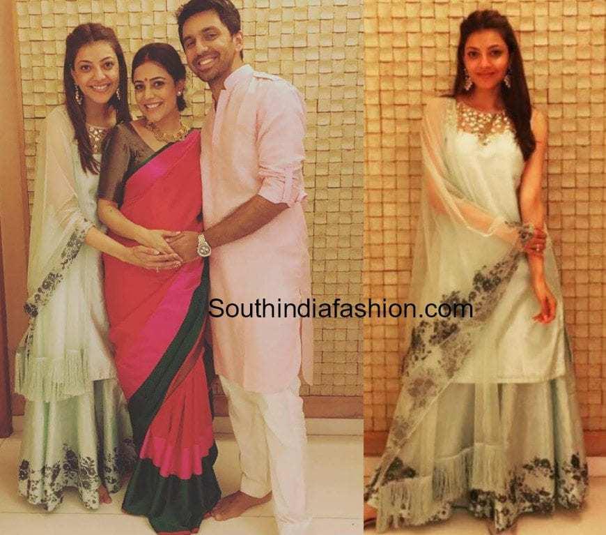 kajal aggarwal sister nisha aggarwal pregnant photos
