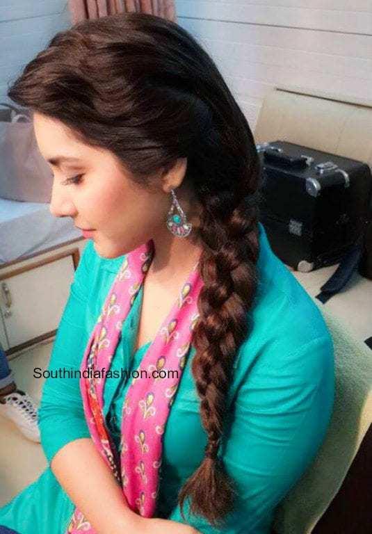 raashi khanna hairstyles