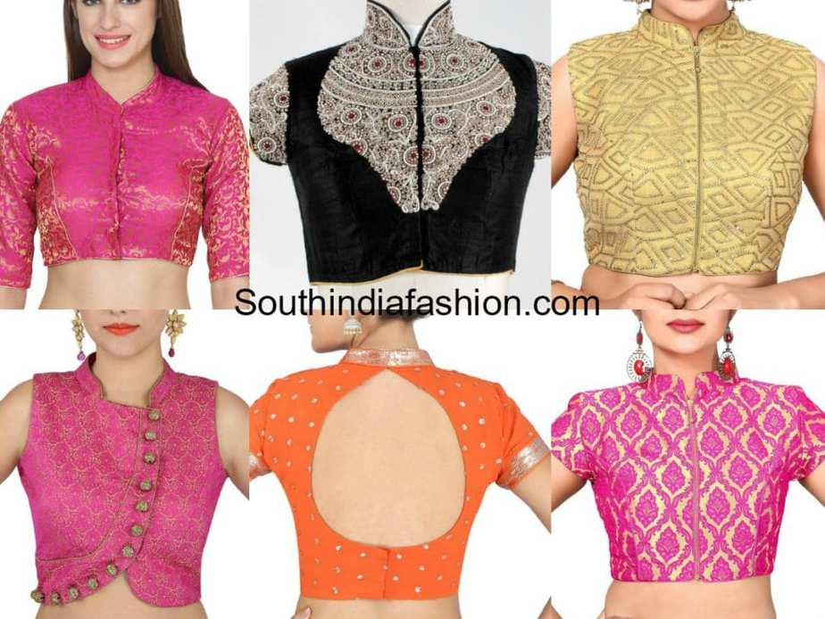 Readymade High Neck Blouses – South