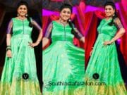 roja in pattu anarkali for khatarnak comedy show