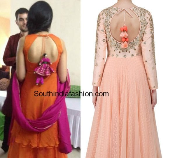 salwar kameez and anarkali back neck designs 2017