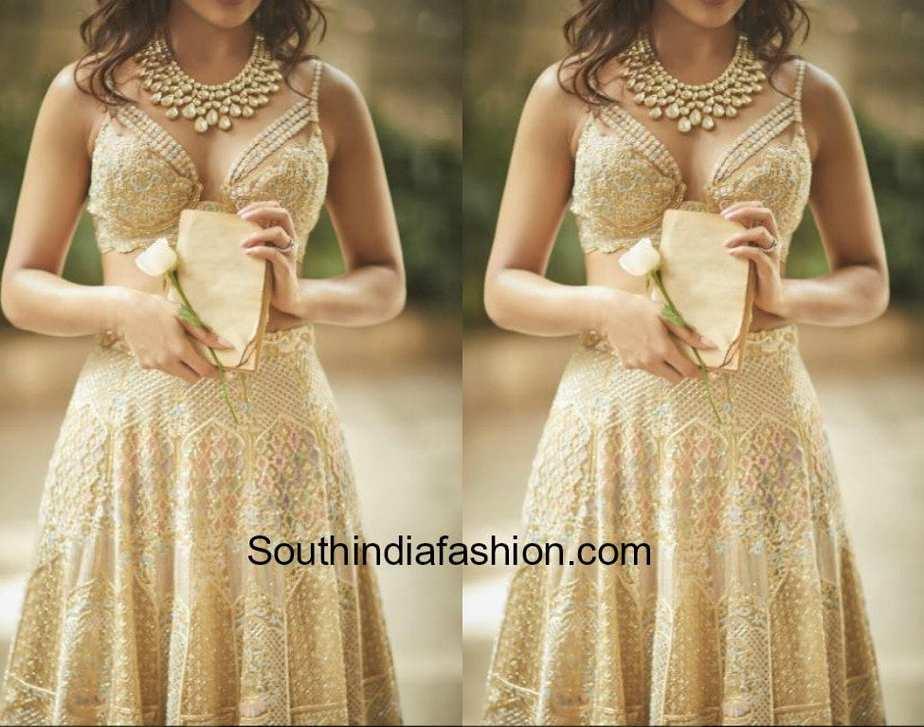 samantha prabhu love story lehenga koecsh