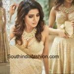 A First Glimpse of Samantha Prabhu's Wedding Lehenga