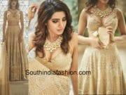 samantha prabhu wedding lehenga by koecsh